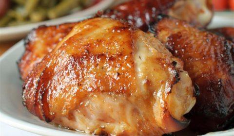 rusty chicken thighs